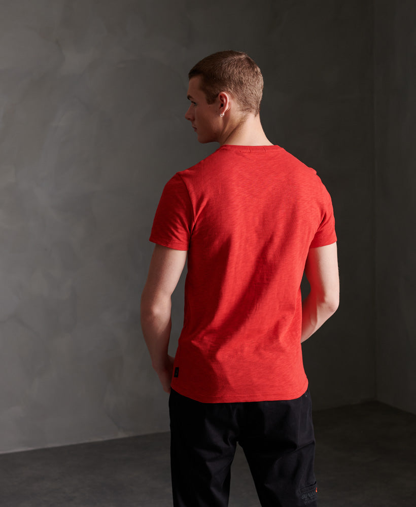 Surplus Goods Graphic T-Shirt - Red