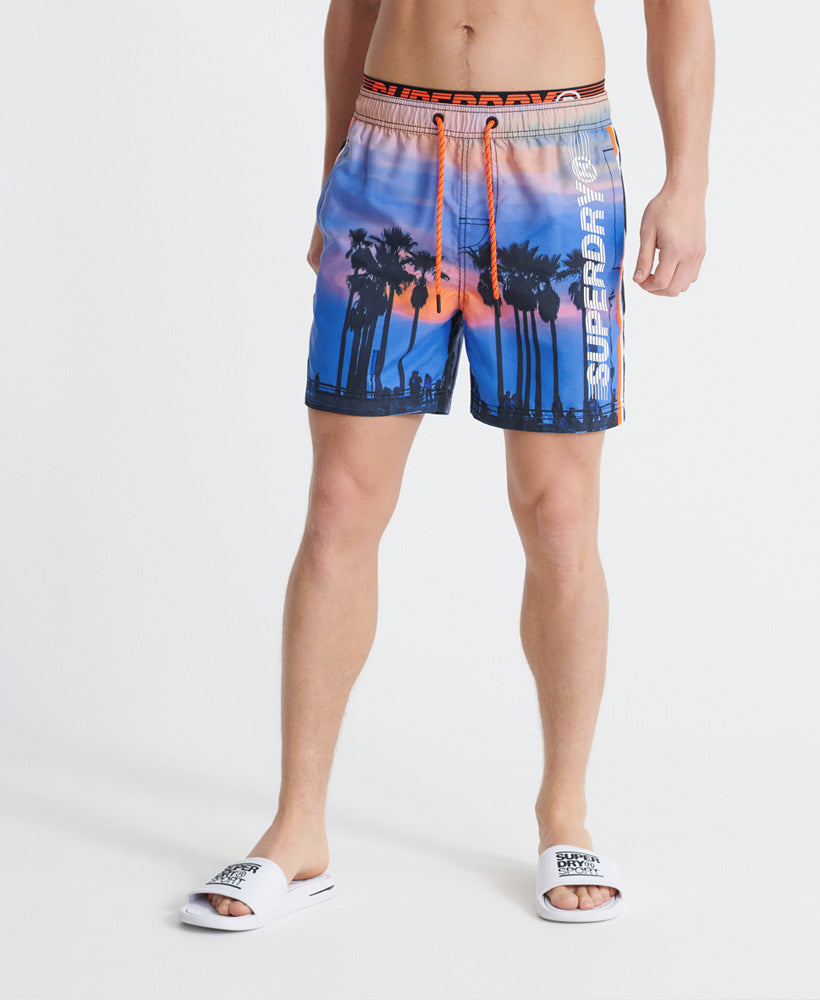 State Volley Swim Shorts - Blue