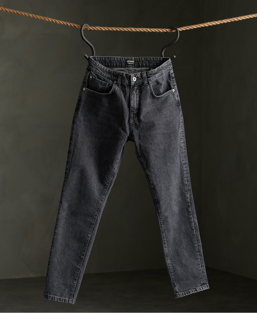 05 Conor Taper Jeans - Black