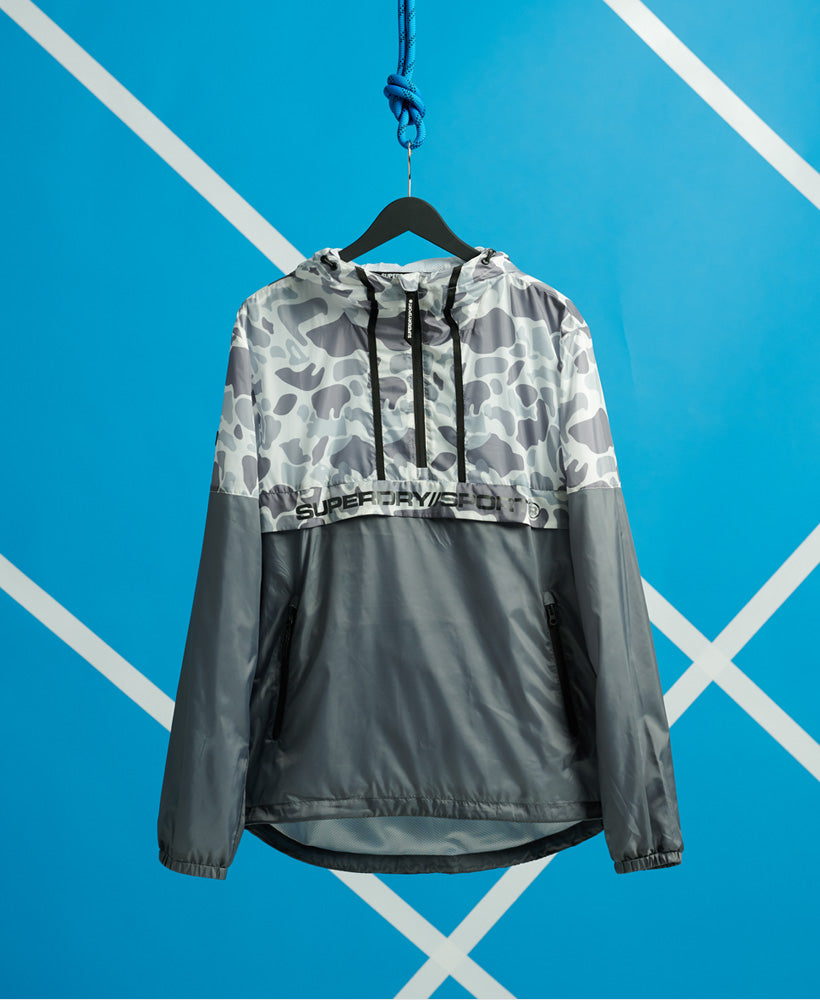 Urban Camo Overhead Jacket - White