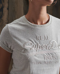 Vintage Logo Tonal Embroidered T-Shirt
