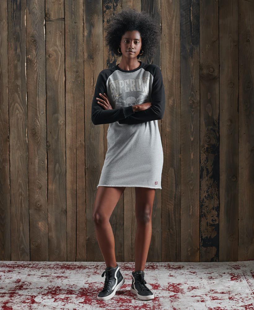 NYC Raglan Sweat Dress