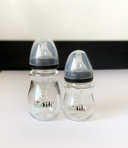 Glass Baby Bottles - 120ml/240ml