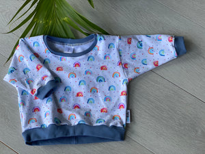 Pocket Full of Rainbows, size 00 - Remy Sweatshirt.