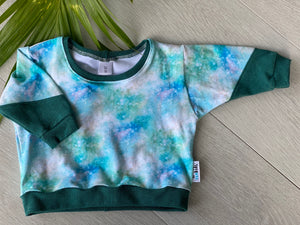 Mint Galaxy, Size 00 - Remy Sweatshirt.