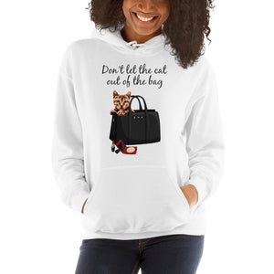 Don't Let the cat out of the Bag | Premium Unisex Hoodie