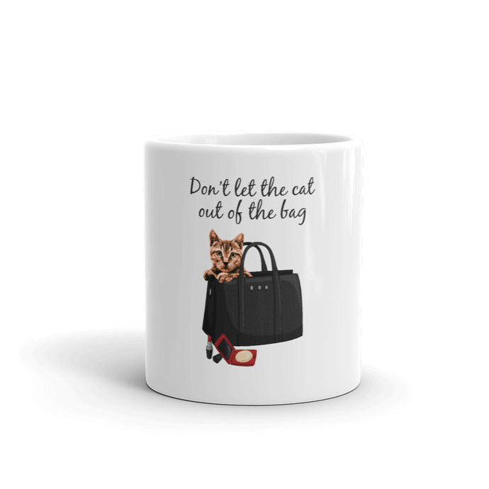 Don't let the Cat out of the Bag | Mug