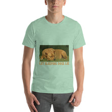 Load image into Gallery viewer, Let Sleeping Dogs Lie | Short-Sleeve Unisex T-Shirt