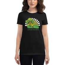 Load image into Gallery viewer, The Early Bird Catches the Worm | Women's short sleeve Premium T-shirt