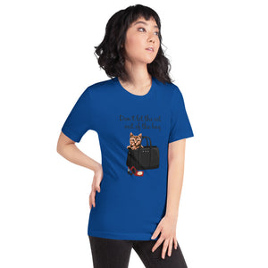Don't Let the Cat out of the Bag | Premium Short-Sleeve Unisex T-Shirt