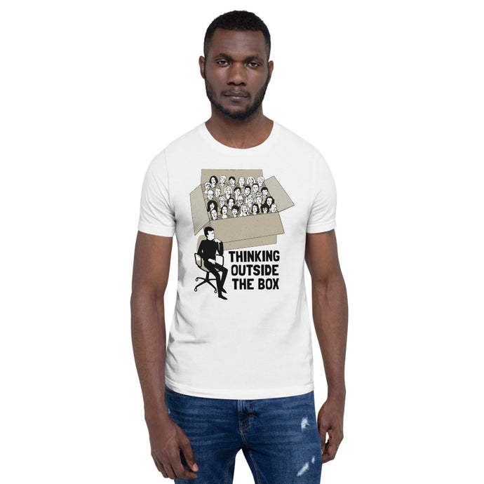 Thinking Outside the Box | Short-Sleeve Unisex Premium T-Shirt