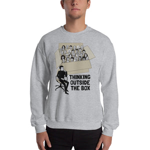 Thinking Outside the Box | Unisex Premium Sweatshirt