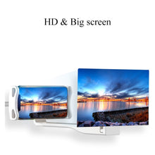 Load image into Gallery viewer, Mobile Phone/Tablet Holder/HD Screen Magnifier