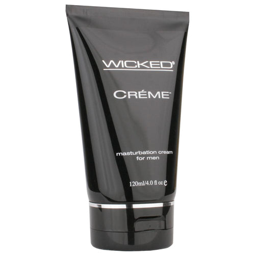 Creme Masturbation Cream for Men in 4oz/120ml by Wicked Sensual Care