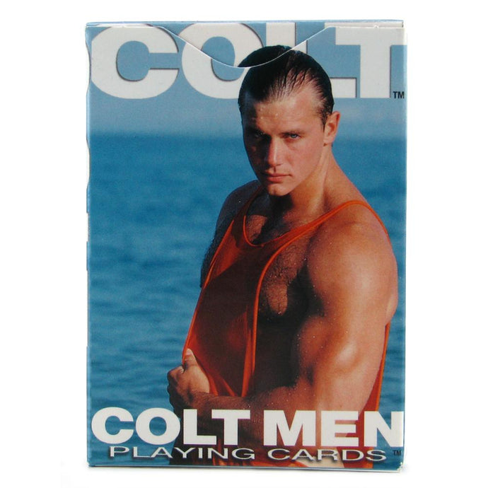 Colt Men Playing Cards by CalExotics