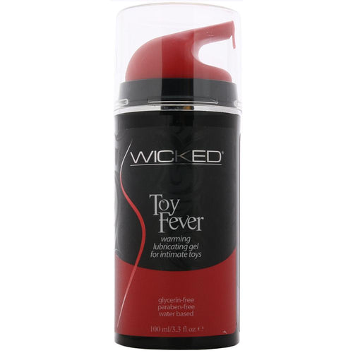Toy Fever Warming Lubricating Gel in 3.3oz/100ml by Wicked Sensual Care
