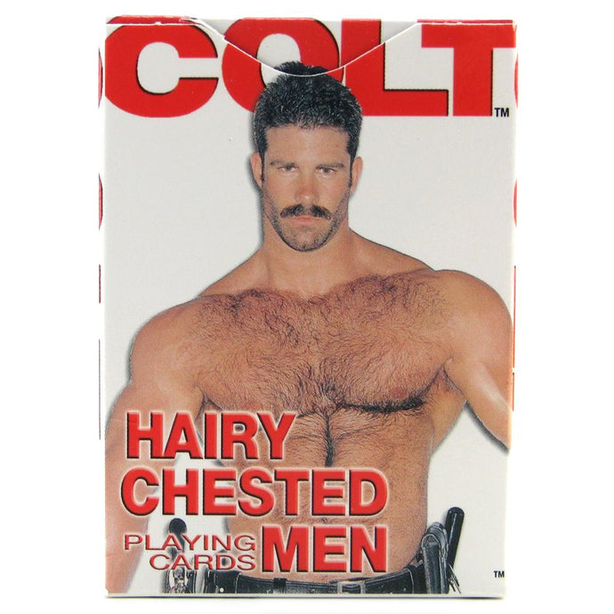 Colt Hairy Chested Men Playing Cards by CalExotics