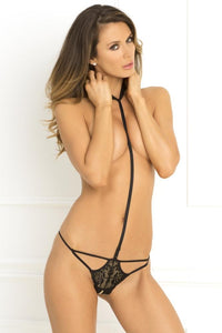Bedroom Ready Crotchless Harness by Rene Rofe Lingerie