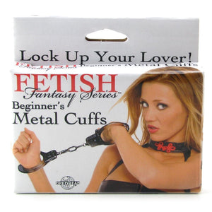 Fetish Fantasy Beginner's Metal Cuffs by Pipedream