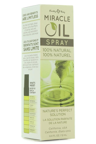 Miracle Oil Spray in 0.4oz/12ml by Earthly Body