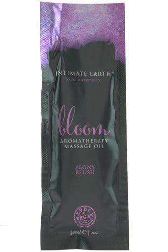 Bloom Vegan Massage Oil 1oz/30ml in Peony Blush by New Earth Trading