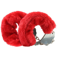 Load image into Gallery viewer, Fetish Fantasy Beginner's Furry Cuffs in Red by Pipedream
