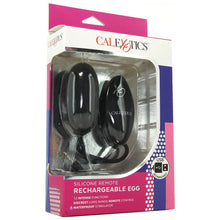 Load image into Gallery viewer, Silicone Remote Rechargeable Egg Vibe by CalExotics