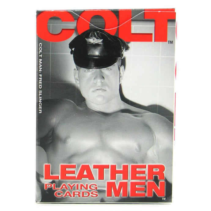 Colt Leather Men Playing Cards by CalExotics