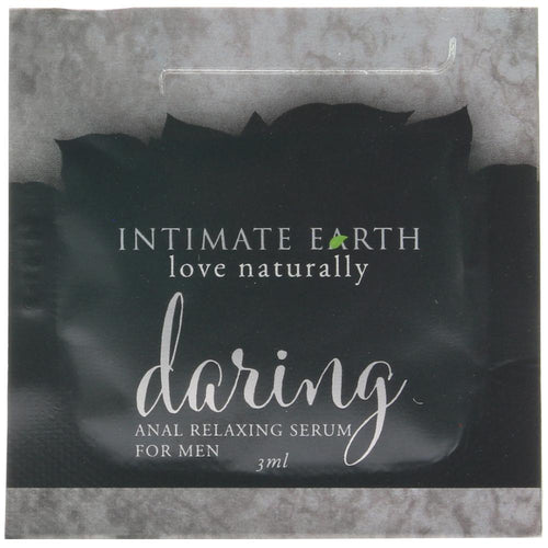 Daring Anal Relaxing Serum for Men in .1oz/3ml by Intimate Earth