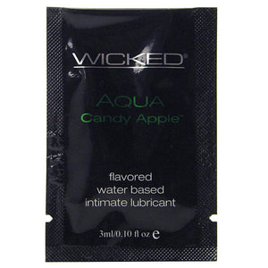 Teasers 10 Lube Packettes in 3mL/0.1oz by Wicked Sensual Care