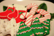 "Load image into Gallery viewer, Holiday Decorated ""Cut-Out"" Cookies"