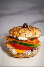 Load image into Gallery viewer, Cold Breakfast Box - Lox & Bagel