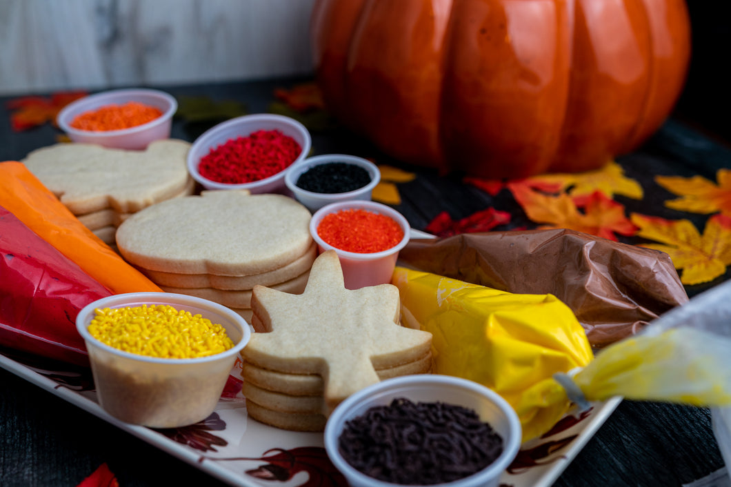 Fall Themed Cookie Decorating Kit