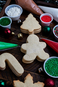 Christmas Themed Cookie Decorating Kit