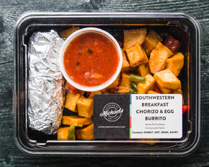 Hot Breakfast Box - Southwestern Box