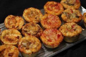 Mini Grilled Vegetable Pizza Muffins