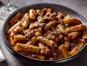 Rigatoni with Short Rib Ragu