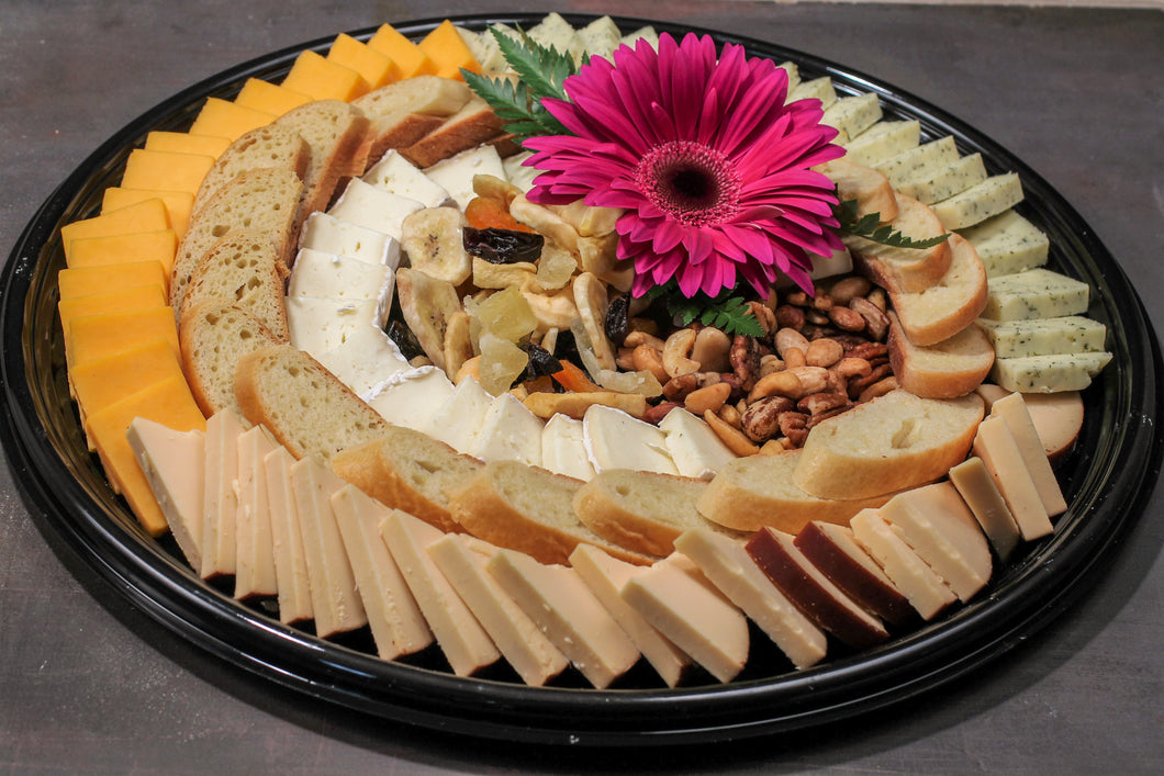Sliced Domestic Cheese Basket