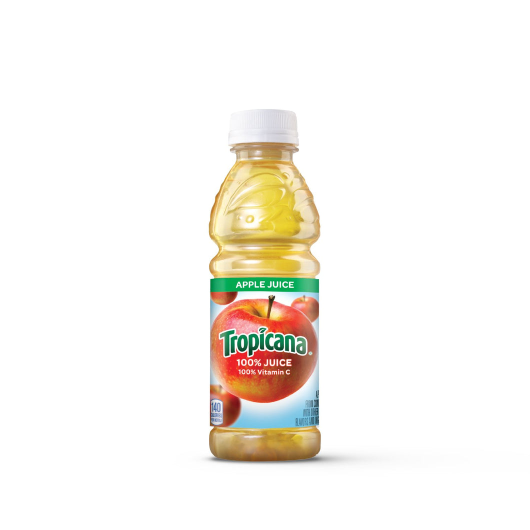 Tropicana Apple Juice - 10oz Bottle