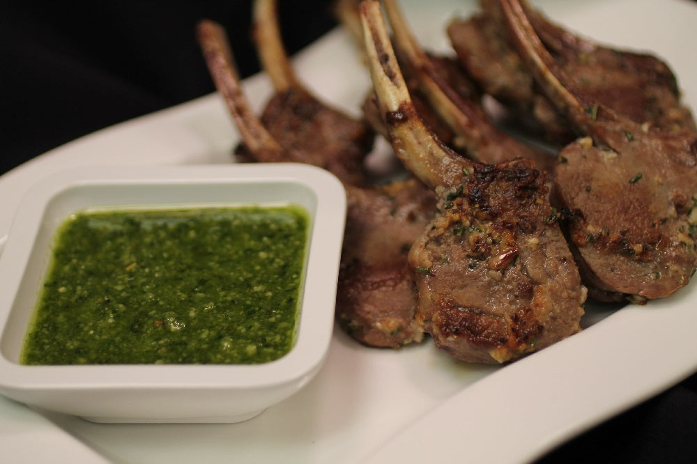 Grilled Baby Lamb Chops