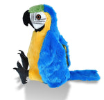 Macaw Parrot Stuffed Animal - 12""