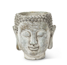 Load image into Gallery viewer, Small Buddha Head Planter