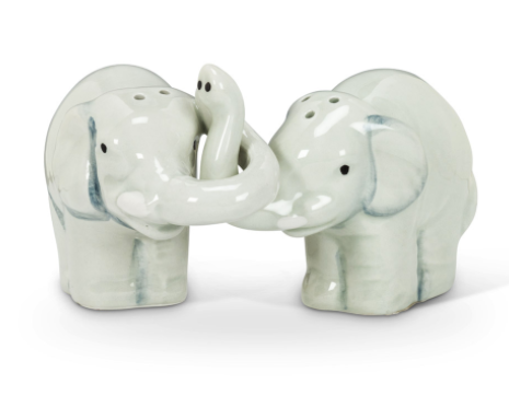 Hugging Elephants Salt & Pepper