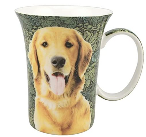 Golden Retriever Crest Mug