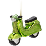 Green Vespa Ornament