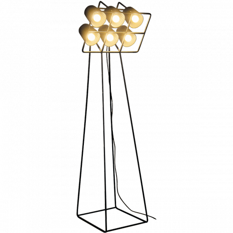 Multilamp floor lamp by Emanuele Magini