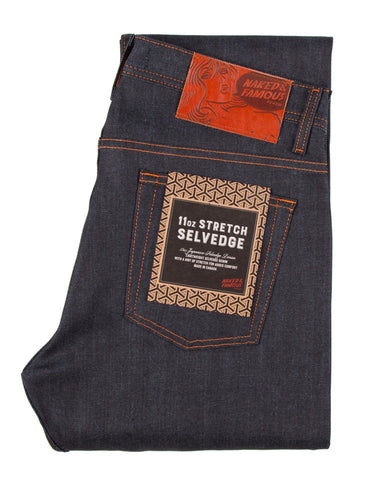 11 oz. Stretch Selvedge | Weird Guy | Naked & Famous