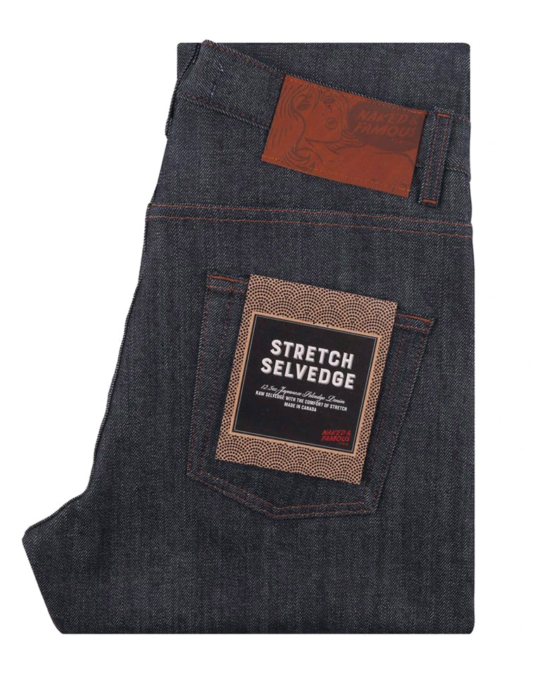 12.5 oz. Stretch Selvedge | Weird Guy | Naked & Famous