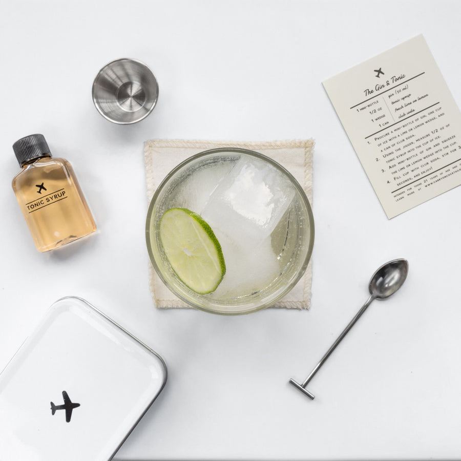 Carry-on Cocktail Kit / Gin & Tonic