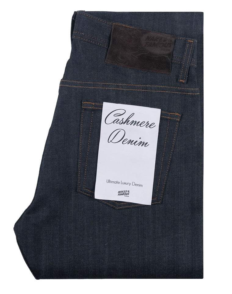Cashmere Blend Stretch Denim | Naked & Famous